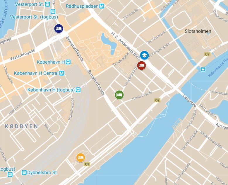 Hotels near The Royal Danish Academy of Sciences and Letters